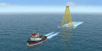 Rockmat : Foundation for rocky seabed